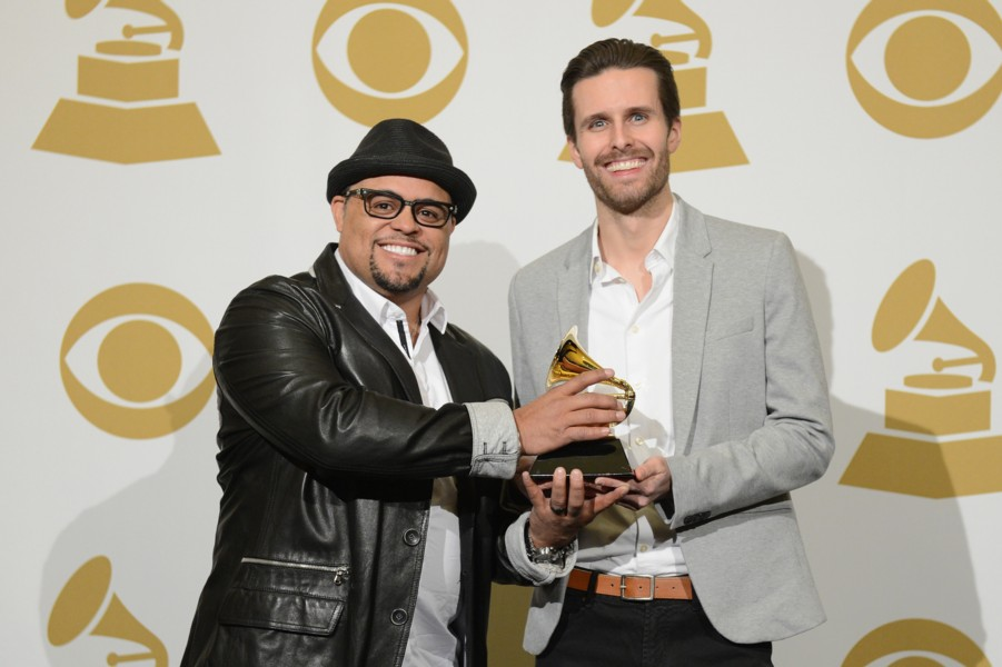 "Israel Houghton, Micah Massey Receive GRAMMY for ""Your Presence Is Heaven"""