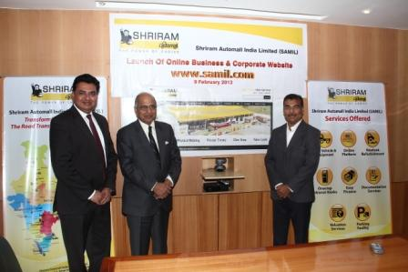 Photo- Shriram Automall launches corporate website