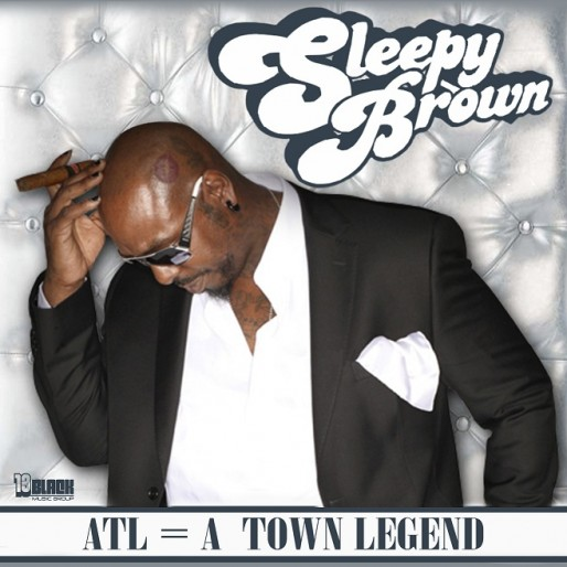 Sleepy Brown - ATL = A Town Legend EP Cover Art