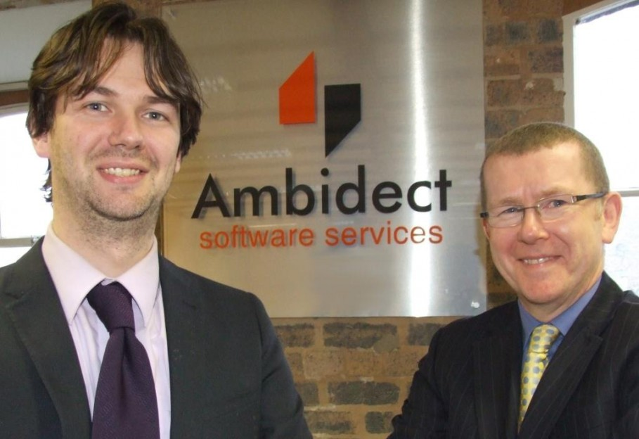 Scott Bamford and Tim Thomas Peter at Ambidect