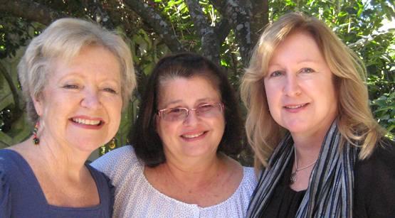 Brenda Robinson, Linda Hurley, Charlene Wilkinson