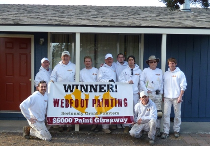 Webfoot Painting's 2012 Giveaway, Two Exterior House Painting Projects- Bend, OR
