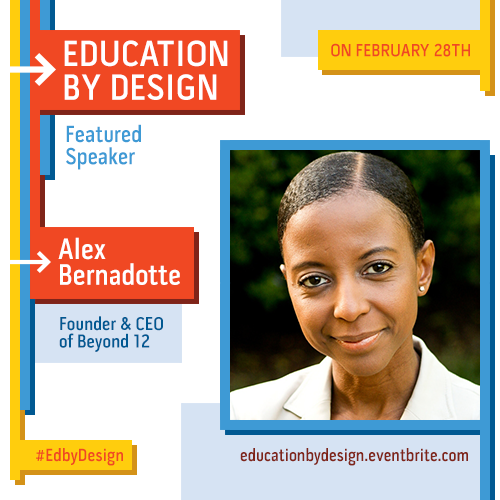 Featured #EdByDesign speaker Alex Bernadotte