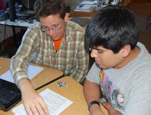 Tutorpedia Foundation tutor and student in action