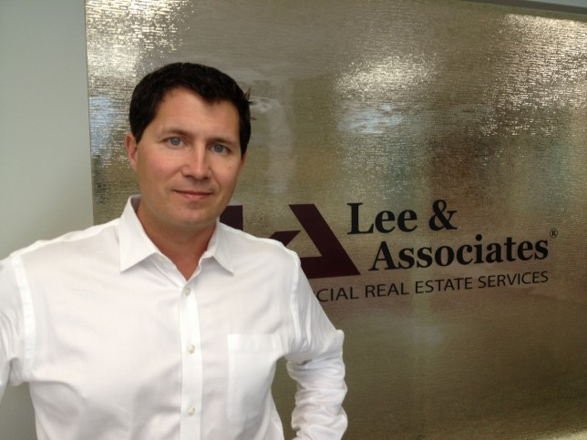 Steven. M. Malley, president of Lee & Associates San Diego-UTC.