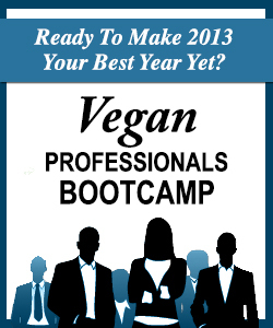 Local marketing bootcamps for vegan professionals!