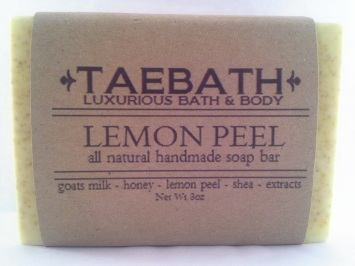 Lemon Peel Soap Bar