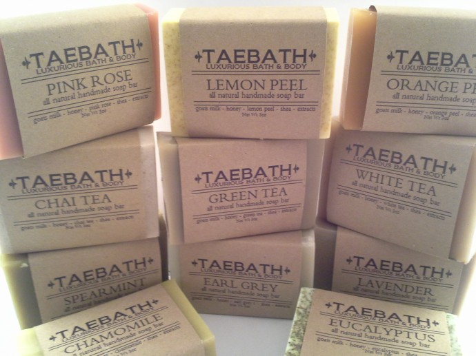 Luxury Handmade Soap Collection