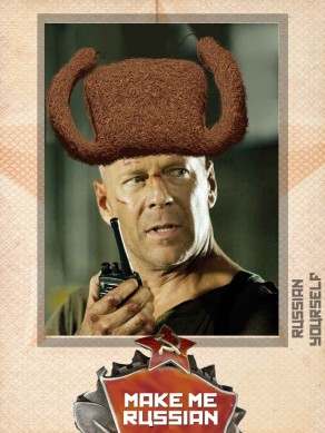Bruce Willis Die Hard Russian Yourself