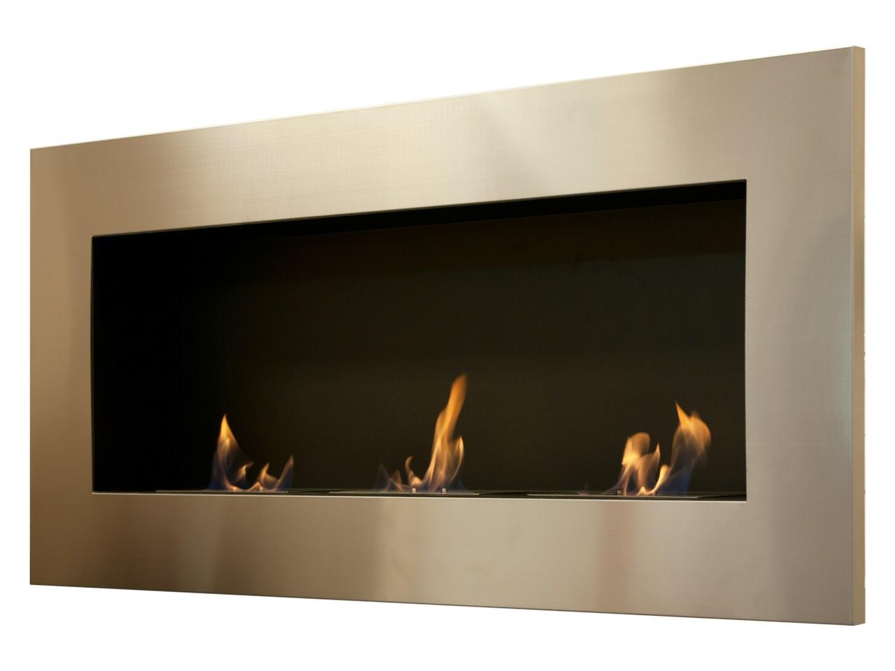 Angulum Optimum - Modern Ethanol Fireplace