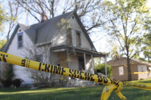 crime scene home