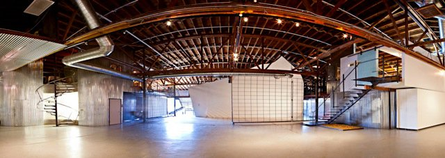 Panorama of the monOrchid Gallery