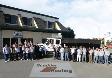 The Scudder Roofing Company Team