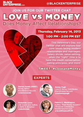BlackEnterprise.com Valentine's Day Twitter Chat Feat. Kenny Pugh