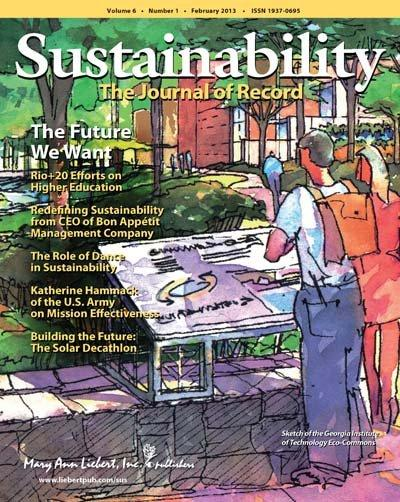 Sustainability - The Journal of Record