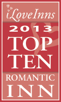 2013 Top 10 Romantic Inns