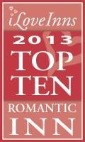 2013 Top 10 Romantic Inns