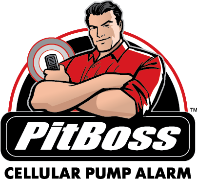 The PitBoss sends text message alerts to three mobile devices.