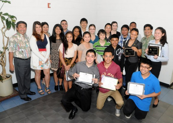 Junior Achievement of Hawaii Island High School Company Program Achievers