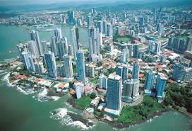 Air View of Panama City