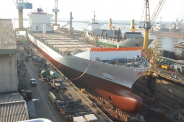 MV. Safmarine Ngami accommodated in 125,000 DWT Dock No. 04