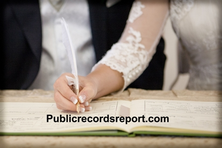 Public Marriage License Records