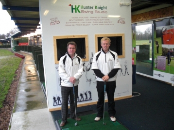 Hunter Knight Coaching PGA's Rupert Hunter and Jamie Knight