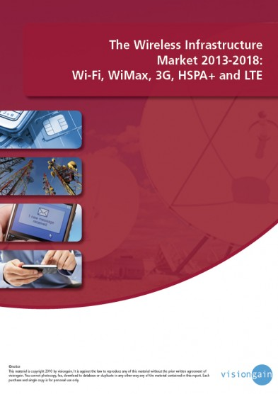The Wireless Infrastructure Market 2013-2018 Cover