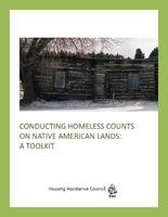 Conducting Homeless Counts on Native American Lands: A Toolkit