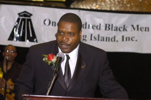 Phil Andrews, President 100 Black Men of Long Isla