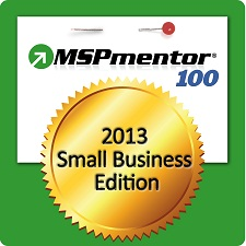 IT TechPros In The Top 100 MSPs by MSPmentor 100 Small Business Edition