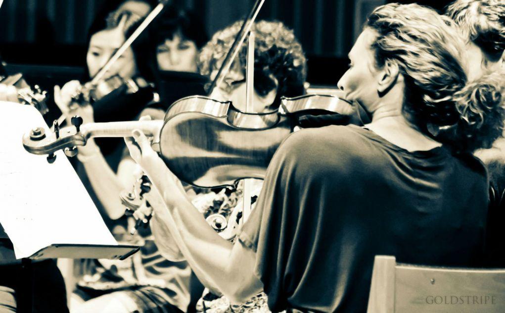 Trish Myers, viola, with Arizona Pro Arte Ensemble