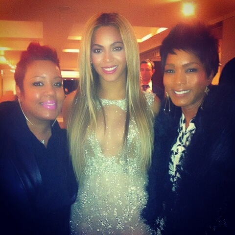 Kym Lee, Beyonce and Angela Bassett
