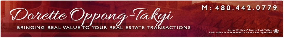 Dorette Oppong-Takyi, providing real value in your real estate transaction.