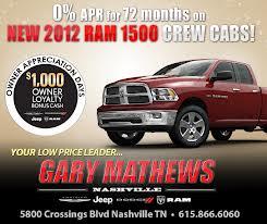 Gary Mathews of Nashville