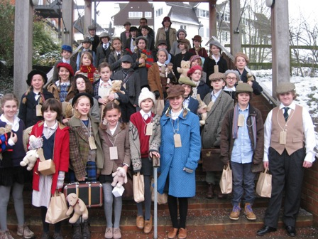 Bedales Prep pupils become evacuees for the day