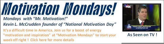 Motivate America's Motivation Mondays