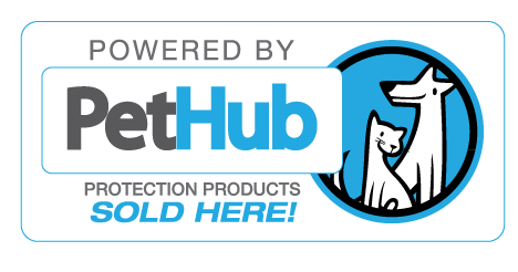 "Pet ID tags ""Powered by PetHub"""