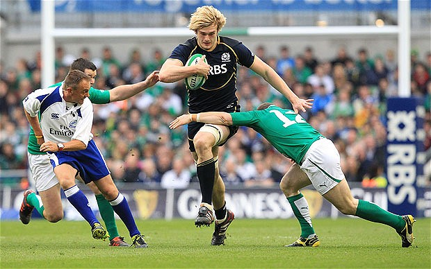 Richie Gray for Scotland