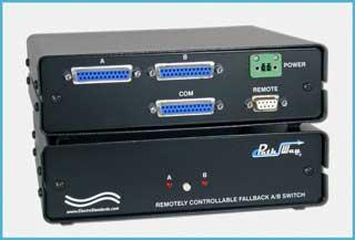 Model 4133 DB25 A/B Auto Fallback Switch with Remote Control