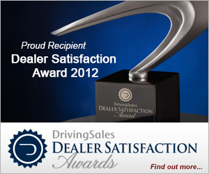 DrivingSales Dealer Satisfaction Awards
