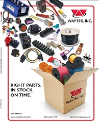 Waytek Inc Releases New 2013 Catalog With Over 10000 Electrical