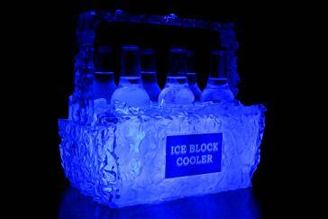 ICE Block Cooler - Party Cooler - Beer Koozie
