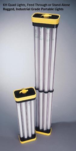 KH Industries Quad Light Models: QL417/68 Watts and QL432/128 Watts