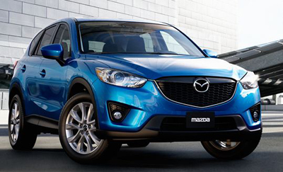 2013 Mazda CX-5 Blue