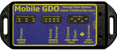 Easy retro fit to existing garage door openers