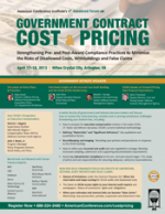 Brochure - Government Contract Cost & Pricing