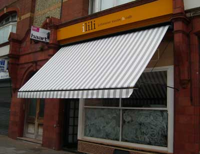 Traditional Victorian awning at ILILI