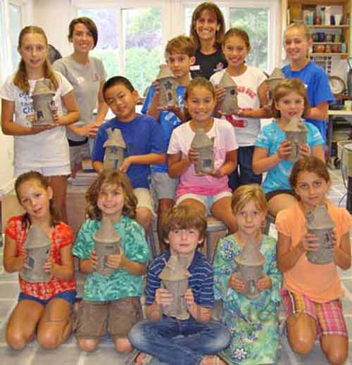 Summer camp class picture