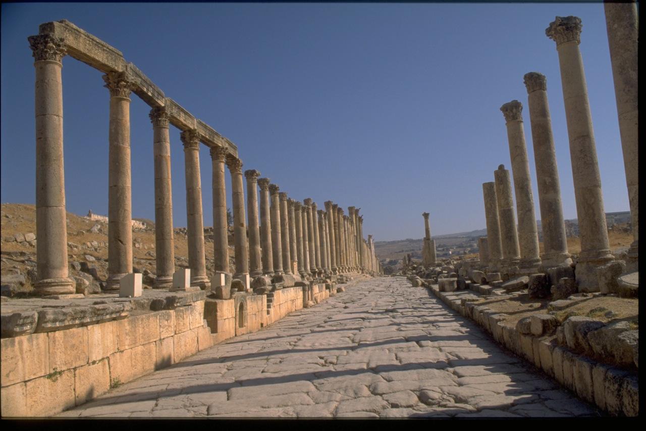 Roman Ruins, Jerash, Jordan